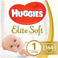 HUGGIES Elite Soft vel. 1 (2× 82 ks) - Dětské pleny