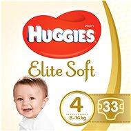 HUGGIES Elite Soft vel. 4 (33 ks) - Dětské pleny