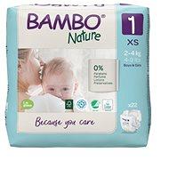 BAMBO NATURE 1  2–4 kg, 22 ks
