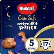HUGGIES Elite Soft Pants přes noc Pants vel. 5 (17 ks) - Plenkové kalhotky