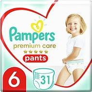 PAMPERS Pants Premium Care Extra Large vel. 6 (31 ks) - Plenkové kalhotky
