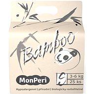 MonPeri Bamboo EKO S (vel. 2) 3–6 kg  25 ks - Eko pleny