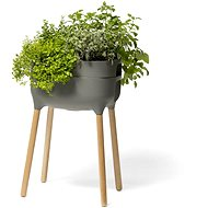 Plastia Urbalive High Growing Vessel, Antracit st. - Flowerpot
