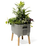 Plastia Low Growing Pot, Urbalive, Antracit sv. - Flowerpot