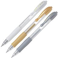 PILOT G-2 07 XMAS bílý, zlatý, stříbrný