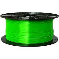 Plasty Mladeč 1.75mm PETG 1kg transparentní zelená - Filament