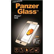 PanzerGlass Premium pro Apple iPhone 7/8 zlaté - Ochranné sklo