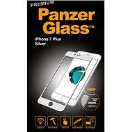 PanzerGlass Premium pro Apple iPhone 7/8 Plus stříbrné - Ochranné sklo