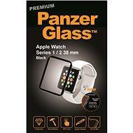 PanzerGlass Premium pro Apple Watch Series 1/2/3 38mm černé - Ochranné sklo