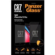 PanzerGlass Edge-to-Edge pro Apple iPhone 6/6s/7/8 Plus černé CR7  - Ochranné sklo