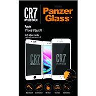 PanzerGlass pro iPhone 6/6s/7/8 Plus Bílé CR7 - Ochranné sklo