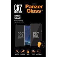PanzerGlass pro Samsung Galaxy S8 Černé Case Friendly CR7 - Ochranné sklo