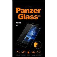 PanzerGlass Edge-to-Edge pro Nokia 8 černé - Ochranné sklo