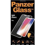 PanzerGlass Edge-to-Edge pro Apple iPhone X bílé (CaseFriendly) - Ochranné sklo