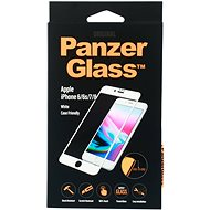 PanzerGlass Edge-to-Edge pro Apple iPhone 6/6s/7/8 bílé (CaseFriendly)