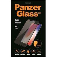 PanzerGlass Premium Privacy pro Apple iPhone X/XS černé - Ochranné sklo