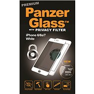 PanzerGlass Premium Privacy pro Apple iPhone 6/6s/7/8 bílé