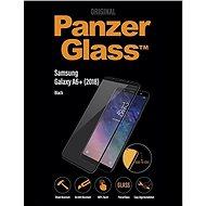 PanzerGlass Edge-to-Edge pro Samsung Galaxy A6+ černé - Ochranné sklo