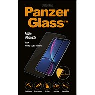 PanzerGlass Edge-to-Edge Privacy pro Apple iPhone XR černé - Ochranné sklo