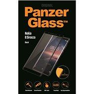 PanzerGlass Edge-to-Edge pro Nokia 8 Sirocco černé - Ochranné sklo