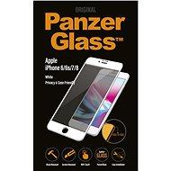 PanzerGlass Edge-to-Edge Privacy pro Apple iPhone 6/6s/7/8 bílé