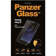 PanzerGlass Premium Privacy pro Samsung Galaxy S8 černé - Ochranné sklo