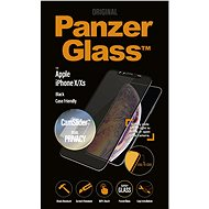 PanzerGlass Edge-to-Edge Privacy pro Apple iPhone X/XS černé s CamSlider