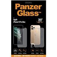 PanzerGlass Standard Bundle pro Apple iPhone 11 Pro Max (Standard fit + Clear TPU Case) - Ochranné sklo
