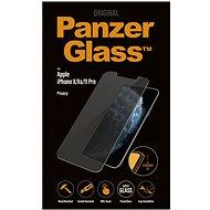 PanzerGlass Standard Privacy pro Apple iPhone X/XS/11 Pro čiré - Ochranné sklo