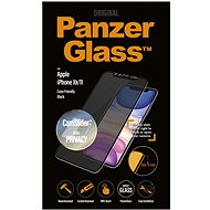 PanzerGlass Edge-to-Edge Privacy pro Apple iPhone XR/11 černé s CamSlider