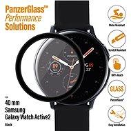 PanzerGlass SmartWatch pro Samsung Galaxy Watch Active 2 (40mm) černé celolepené - Ochranné sklo