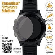 PanzerGlass SmartWatch pro různé typy hodinek (30mm) čiré (Samsung Galaxy Watch 3 41 mm) - Ochranné sklo