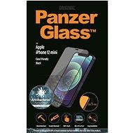 PanzerGlass Edge-to-Edge Antibacterial pro Apple iPhone 12 Mini černé - Ochranné sklo