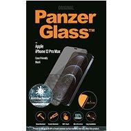 PanzerGlass Edge-to-Edge Antibacterial pro Apple iPhone 12 Pro Max černé - Ochranné sklo