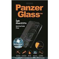 PanzerGlass Edge-to-Edge Privacy Antibacterial pro Apple iPhone 12/iPhone 12 Pro černé - Ochranné sklo