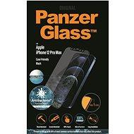 PanzerGlass Edge-to-Edge Antibacterial pro Apple iPhone 12 Pro Max černé s Anti-Glare vrstvou - Ochranné sklo