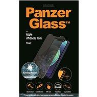 PanzerGlass Standard Privacy Antibacterial pro Apple iPhone 12 mini čiré