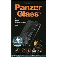PanzerGlass Standard Privacy Antibacterial pro Apple iPhone 12/12 Pro čiré - Ochranné sklo