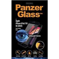 PanzerGlass Edge-to-Edge pro Apple iPhone 6/6s/7/8/SE 2020 černé s Anti-blue light