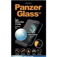 PanzerGlass Edge-to-Edge pro Apple iPhone Xs Max/11 Pro Max černé s Anti-Glare - Ochranné sklo