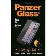 PanzerGlass Edge-to-Edge pro Nokia 2.4 černé - Ochranné sklo