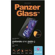 PanzerGlass Edge-to-Edge pro Motorola One 5G/Moto G 5G Plus černé - Ochranné sklo