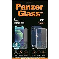 PanzerGlass Standard Antibacterial Bundle pro Apple iPhone 12 mini (PanzerGlass sklo + čirý TPU obal