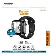 PanzerGlass Full Protection pro Apple Watch 4/5/6/SE 40mm (černý rámeček) - Ochranné sklo