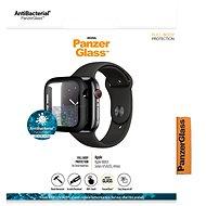 PanzerGlass Full Protection pro Apple Watch 4/5/6/SE 44mm (černý rámeček) - Ochranné sklo