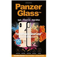 PanzerGlass ClearCase pro Apple iPhone X/XS Black edition - Kryt na mobil
