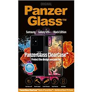 PanzerGlass ClearCase pro Samsung Galaxy S20+ Black edition - Kryt na mobil