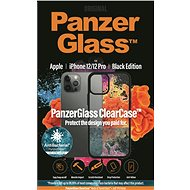 PanzerGlass ClearCase Antibacterial pro Apple iPhone 12/iPhone 12 Pro Black edition - Kryt na mobil