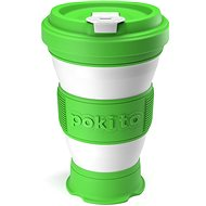 Pokito Skládací šálek na kávu 3v1 limetový - Hrnek