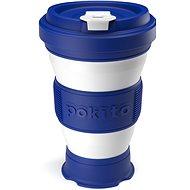 POKITO Skládací šálek na kávu 3v1 borůvkový - Hrnek